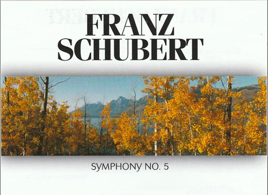 Schubert, 5.  Sinfonie, 2. Satz