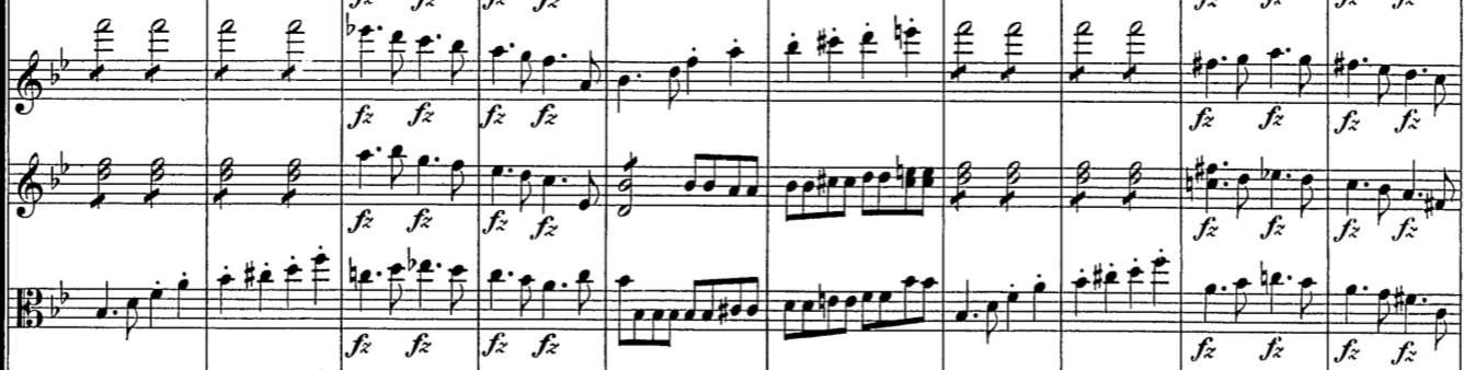 Schubert, 5.  Sinfonie, 1. Satz