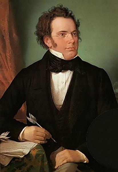 Porträt Franz Schubert