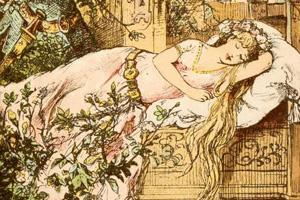 Illustration: Pavane de la belle au boix dormant