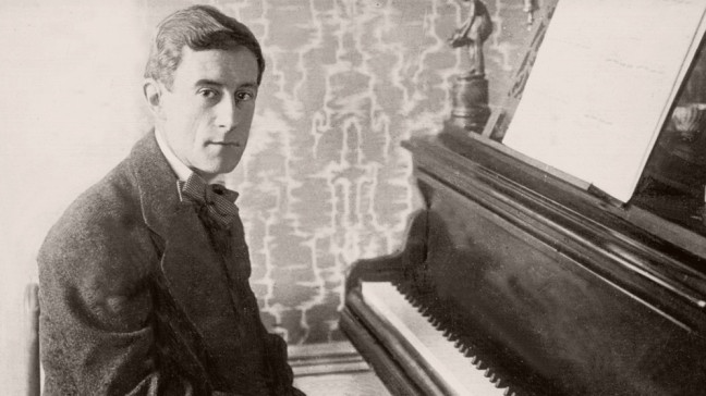 Ravel am Klavier
