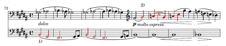 3. Satz, 2. Thema