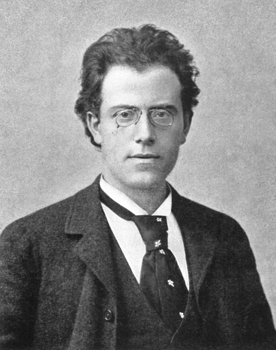 Gustav Mahler 1892