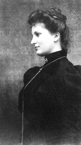 Alma Schindler 1899