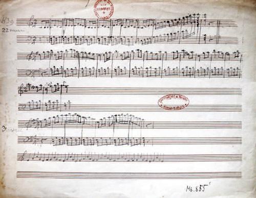 Saint-Saëns' erste Komposition