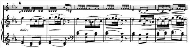 Schubert, Sonatine g-Moll, 2. Satz