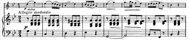 Schubert, Sonatine g-Moll, 4. Satz